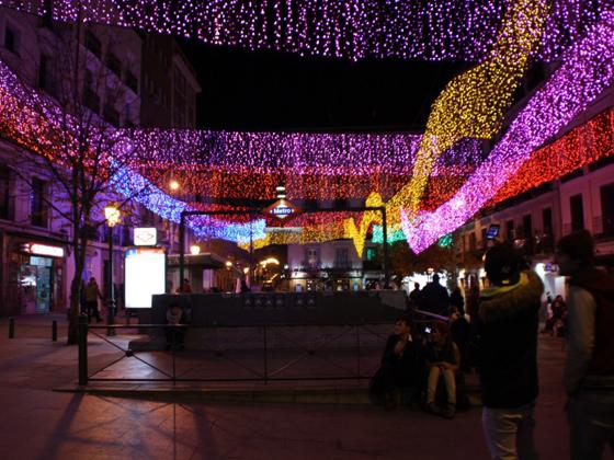 mercado navidad madrid